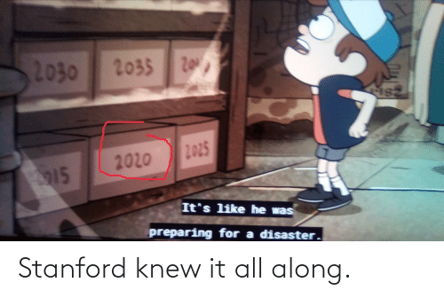 It All: Stanford knew it all along.