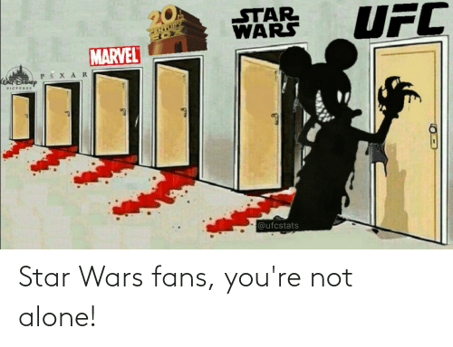 Not Alone: Star Wars fans, you're not alone!