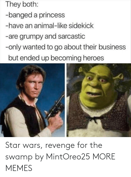 wars: Star wars, revenge for the swamp by MintOreo25 MORE MEMES