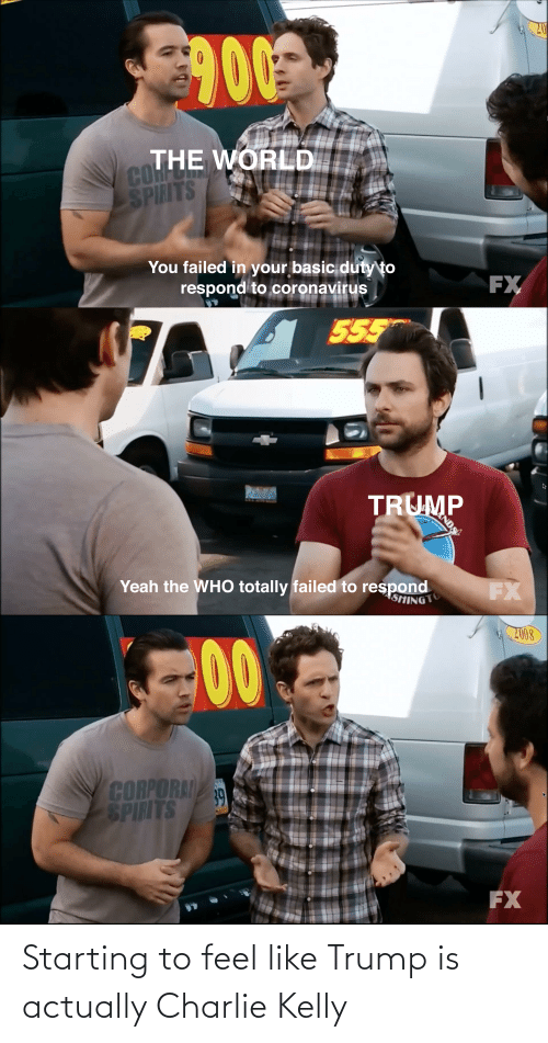 Kelly: Starting to feel like Trump is actually Charlie Kelly