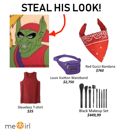 Gucci, Makeup, and Black: STEAL HIS LOOK! 96 96080969690909090909090 executedmemes Red Gucci