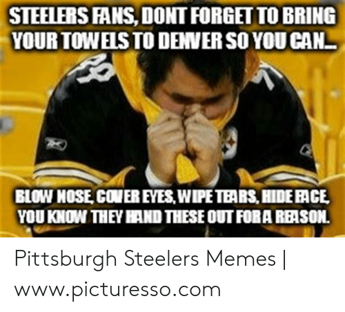 25 Best Memes About Funny Steelers Funny Steelers Memes