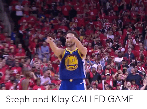 Steph: Steph and Klay CALLED GAME