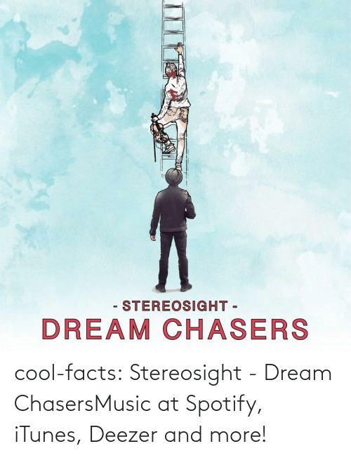Cool Facts: - STEREOSIGHT -  DREAM CHASERS cool-facts:  Stereosight - Dream ChasersMusic at Spotify, iTunes, Deezer and more!