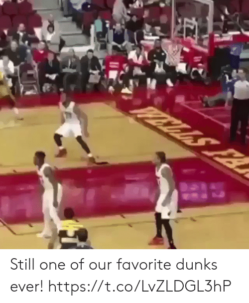 Memes, 🤖, and One: Still one of our favorite dunks ever!  https://t.co/LvZLDGL3hP