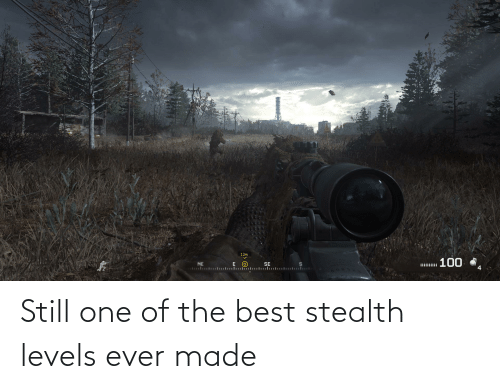 stealth: Still one of the best stealth levels ever made