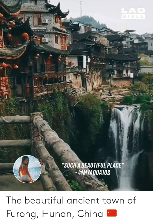 "Beautiful, Dank, and China: ""SUCH A BEAUTIFUL PLACE  MYAQUA102 The beautiful ancient town of Furong, Hunan, China 🇨🇳"