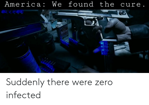 suddenly: Suddenly there were zero infected