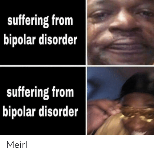 Bipolar: suffering from  bipolar disorder  suffering from  bipolar disorder Meirl