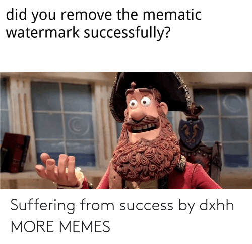 Success: Suffering from success by dxhh MORE MEMES
