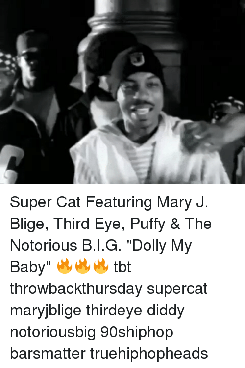 "mary j: Super Cat Featuring Mary J. Blige, Third Eye, Puffy & The Notorious B.I.G. ""Dolly My Baby"" 🔥🔥🔥 tbt throwbackthursday supercat maryjblige thirdeye diddy notoriousbig 90shiphop barsmatter truehiphopheads"