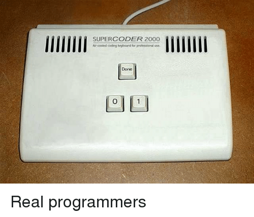 Keyboard, Air, and Coding: SUPERCODER 200O  Air cooled coding keyboard for professional use  Done Real programmers