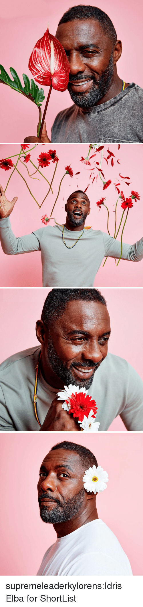 Idris Elba, Target, and Tumblr: supremeleaderkylorens:Idris Elba for ShortList