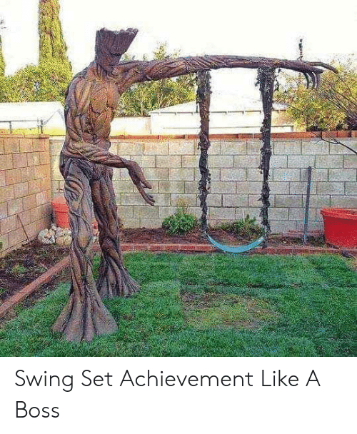 swing: Swing Set Achievement Like A Boss
