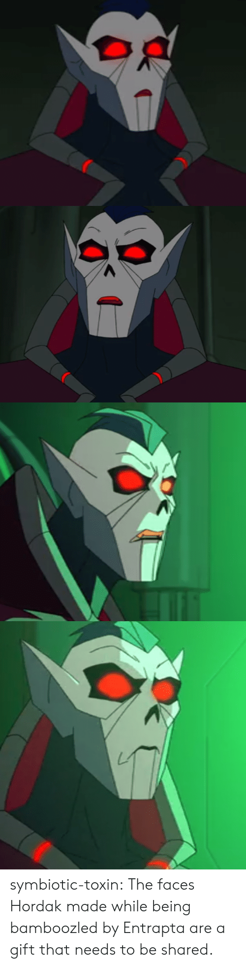 Tumblr, Blog, and Com: symbiotic-toxin:  The faces Hordak made while being bamboozled by Entrapta are a gift that needs to be shared.