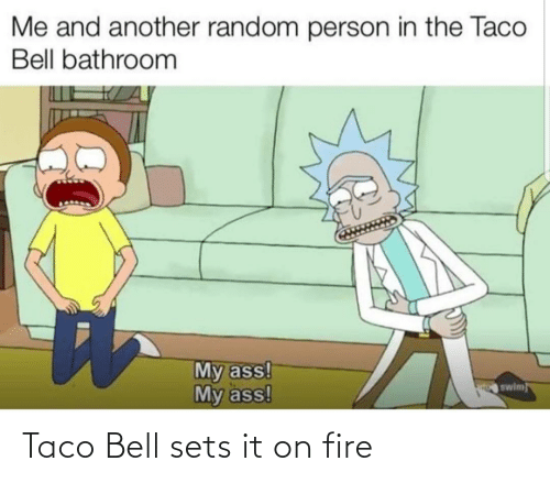 Taco Bell: Taco Bell sets it on fire