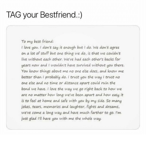 best friend funny and love tag your bestfriend to my