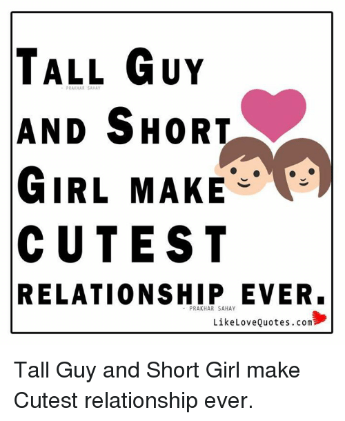 Dating tall guy meme