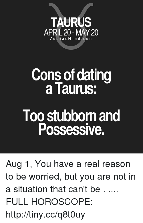 Taurus dating Taurus