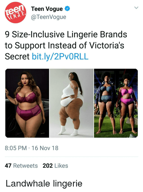 088038facf Teen Vogue C 9 Size-Inclusive Lingerie Brands to Support Instead of ...
