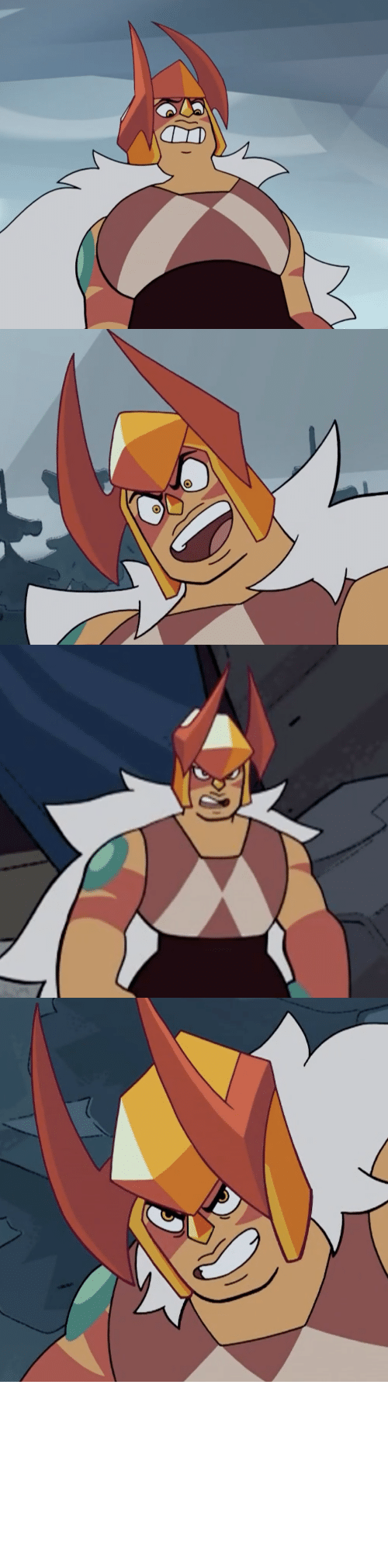 Good Thing: terrorbeaks: Ok but Jasper's helmet with the horns looks so sick.   Only good thing today apart from Doom Eternal