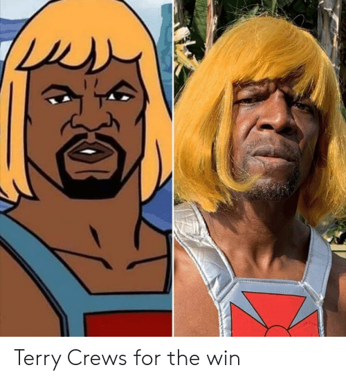 for the win: Terry Crews for the win