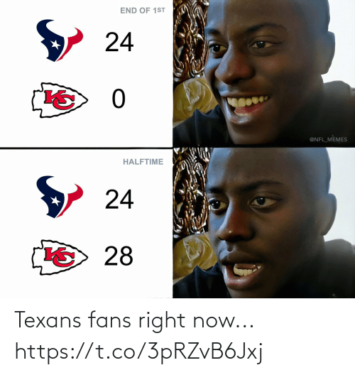right now: Texans fans right now... https://t.co/3pRZvB6Jxj