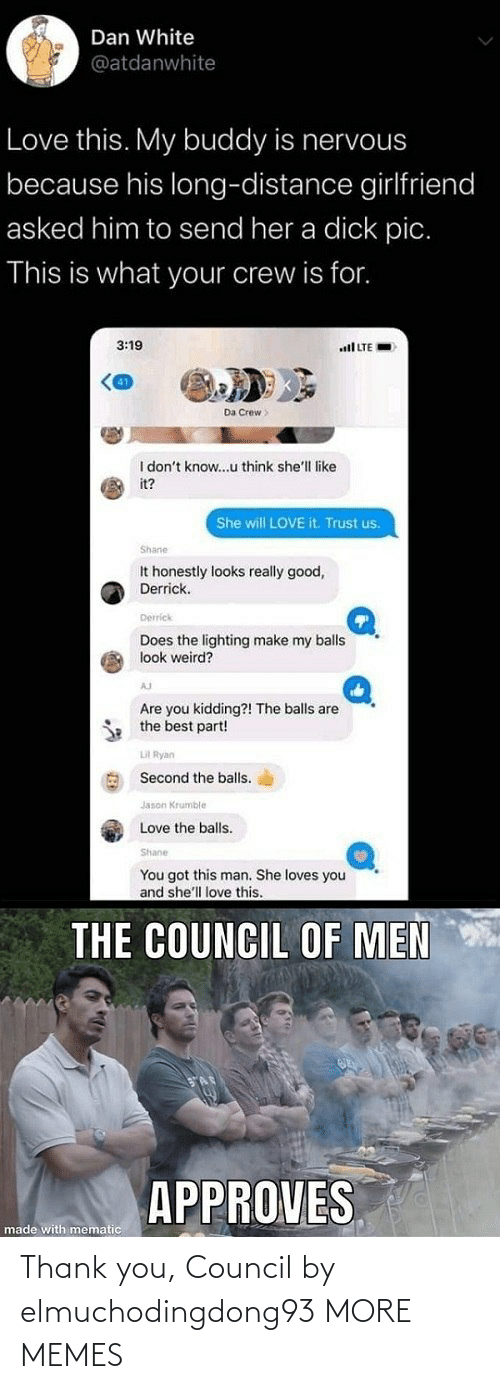 Council: Thank you, Council by elmuchodingdong93 MORE MEMES