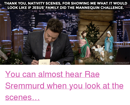 """The Mannequin: THANK YOU, NATIVITY SCENES, FOR SHOWING ME WHAT IT WOULD  m LOOK LIKE IF JESUS FAMILY DID THE MANNEQUIN CHALLENGE.  ALLONTONIGHT <p><a href=""""https://www.youtube.com/watch?v=ZPO9Okkb2WA&amp;index=5&amp;list=UU8-Th83bH_thdKZDJCrn88g"""" target=""""_blank"""">You can almost hear Rae Sremmurd when you look at the scenes&hellip;</a></p>"""
