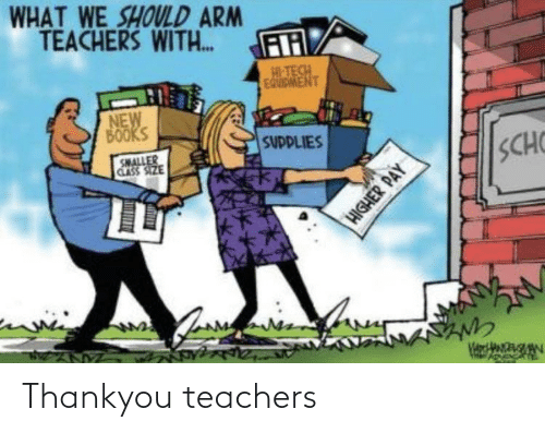 teachers: Thankyou teachers