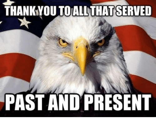 Memes, 🤖, and Present: THANKYOU TO ALLTHATSERVED  PAST AND PRESENT