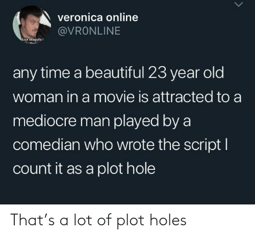 Holes: That's a lot of plot holes