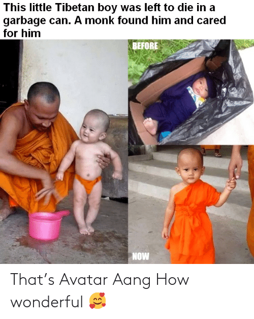Aang: That's Avatar Aang How wonderful 🥰