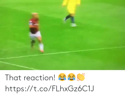 soccer: That reaction! 😂😂👏 https://t.co/FLhxGz6C1J