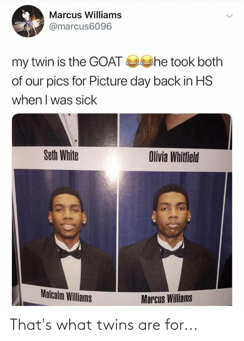 Twins: That's what twins are for...