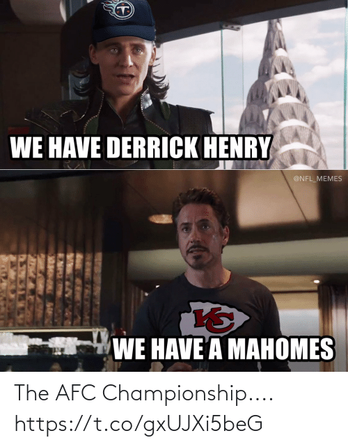 Afc Championship: The AFC Championship.... https://t.co/gxUJXi5beG