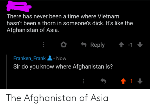 Afghanistan: The Afghanistan of Asia