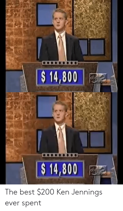 Ken: The best $200 Ken Jennings ever spent