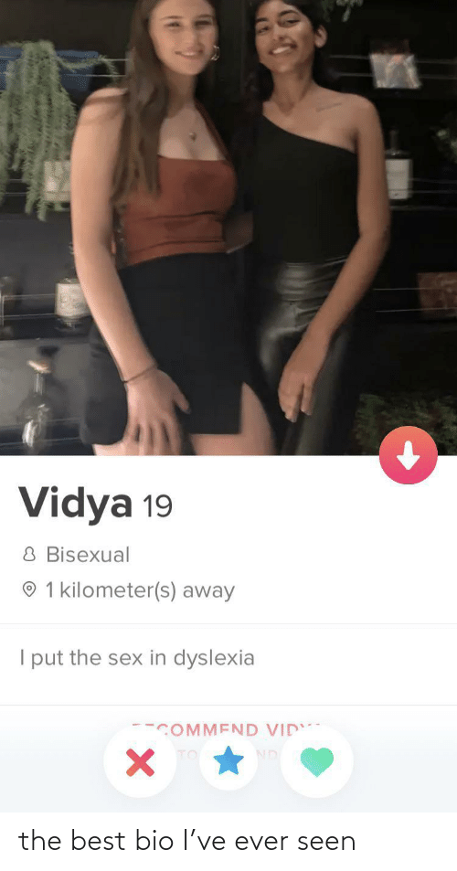 bio: the best bio I've ever seen