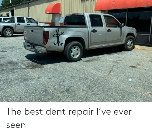 ever: The best dent repair I've ever seen