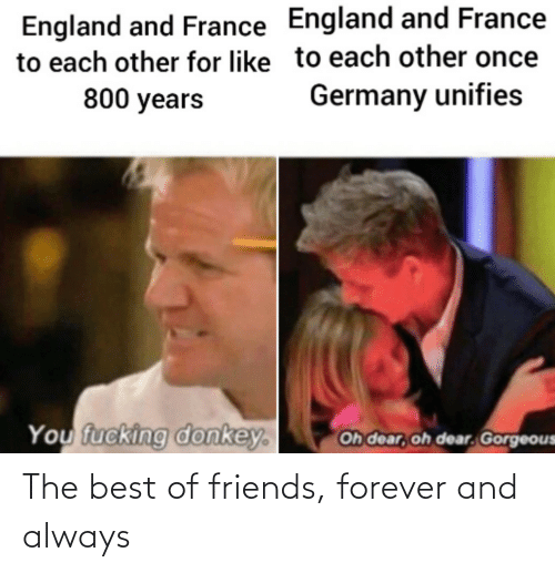 the best: The best of friends, forever and always