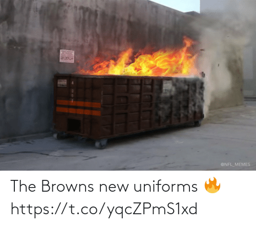Browns: The Browns new uniforms 🔥 https://t.co/yqcZPmS1xd