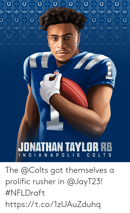 Themselves: The @Colts got themselves a prolific rusher in @JayT23! #NFLDraft https://t.co/1zUAuZduhq