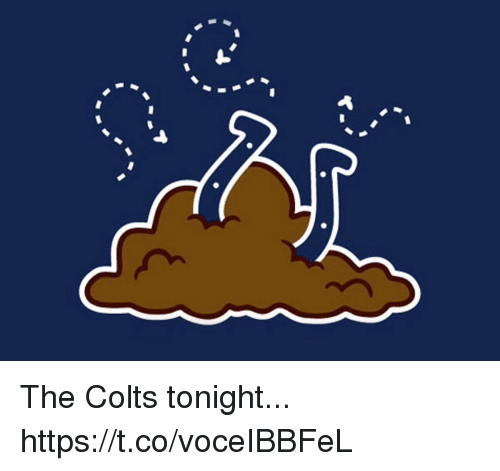Indianapolis Colts, Football, and Nfl: The Colts tonight... https://t.co/voceIBBFeL