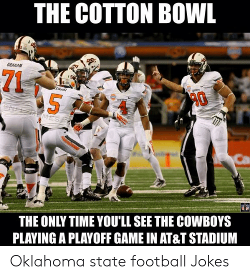25 Best Memes About Oklahoma State Football Jokes