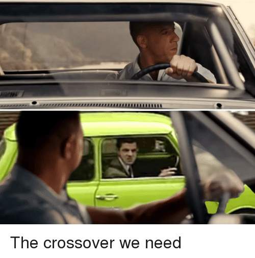 Crossover,  Need, and The: The crossover we need