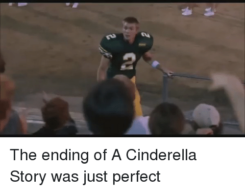A Cinderella Story: The ending of A Cinderella Story was just perfect