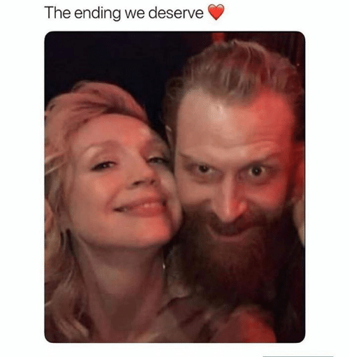 Game of Thrones,  Deserve, and Ending: The ending we deserve