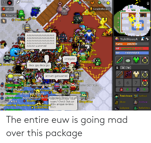 over-this: The entire euw is going mad over this package
