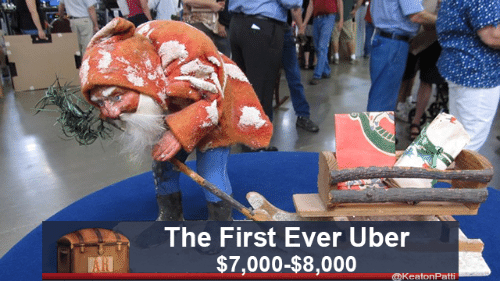 Uber, First, and Ever: The First Ever Uber  $7,000-$8,000  AR  @keatonPatt